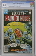 Modern Age (1980-Present):Horror, Secrets of Haunted House #21 (DC, 1980) CGC NM+ 9.6 Off-white towhite pages....