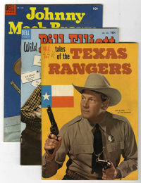 Four Color Western Group (Dell, 1952-62) Condition: Average FN/VF.... (Total: 13 Comic Books)
