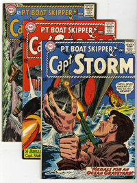 Captain Storm #6-18 Group (DC, 1965-67) Condition: Average FN+.... (Total: 13 Comic Books)