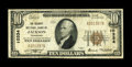 National Bank Notes:Tennessee, Jackson, TN - $10 1929 Ty. 1 The Security NB Ch. # 10334. ...