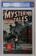 Silver Age (1956-1969):Horror, Mystery Tales #52 White Mountain pedigree (Atlas, 1957) CGC VF 8.0Off-white to white pages....
