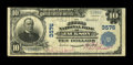 National Bank Notes:Tennessee, Jackson, TN - $10 1902 Plain Back Fr. 626 The Second NB Ch. # 3576....