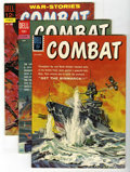 Silver Age (1956-1969):War, Combat #1, 4, and 6 Group (Dell, 1961-62) Condition: AverageVF+.... (Total: 3 Comic Books)
