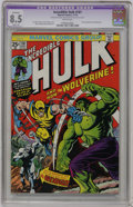 Bronze Age (1970-1979):Superhero, The Incredible Hulk #181 (Marvel, 1974) CGC Apparent VF+ 8.5 Slight (A) White pages....