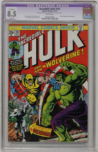 The Incredible Hulk #181 (Marvel, 1974) CGC Apparent VF+ 8.5 Slight (A) White pages