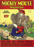 Platinum Age (1897-1937):Miscellaneous, Mickey Mouse Magazine V2#9 (K. K. Publications, Inc., 1937)Condition: VF....