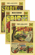 Golden Age (1938-1955):Superhero, The Spirit (weekly newspaper insert) Mid to Late 1940 Group (Various Publishers, 1940) Condition: Average VF+.... (Total: 27 Comic Books)