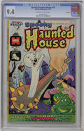 Bronze Age (1970-1979):Cartoon Character, Spooky Haunted House #14 File Copy (Harvey, 1974) CGC NM 9.4Off-white to white pages....