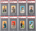 Baseball Cards:Lots, 1909-11 T206 White Border PSA EX 5 Collection (20). ...