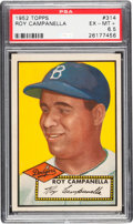 Baseball Cards:Singles (1950-1959), 1952 Topps Roy Campanella #314 PSA EX-MT+ 6.5....