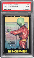 Non-Sport Cards:Singles (Post-1950), 1964 Bubbles, Inc. (Topps) Outer Limits #27 PSA Mint 9 - Pop Four,None Higher. ...