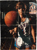 Basketball Collectibles:Photos, 1970's Pete Maravich Signed Magazine Photograph....