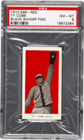 "Baseball Cards:Singles (Pre-1930), 1910 E98 ""Set of 30"" Ty Cobb - Red (Black Swamp Find) PSA NM-MT8...."