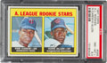 Baseball Cards:Singles (1960-1969), 1967 Topps Rod Carew - A.L. Rookies #569 PSA NM-MT+ 8.5. ...