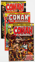 Bronze Age (1970-1979):Adventure, British Conan Related Group (Marvel, 1970s).... (Total: 68 Comic Books)