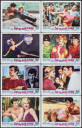"""Movie Posters:Foreign, Up to His Ears & Other Lot (Lopert, 1966). Lobby Card Sets of 8 (2 Sets) (11"""" X 14""""). Foreign.. ... (Total: 16 Items)"""