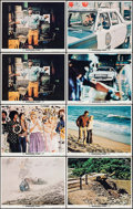 """Movie Posters:Action, Vanishing Point (20th Century Fox, 1971). Lobby Cards (8) (11"""" X14""""). Action.. ... (Total: 8 Items)"""