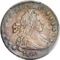 Early Dimes, 1807 10C JR-1, R.2, AU58+ PCGS....
