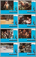"""Movie Posters:Action, Deliverance (Warner Brothers, 1972). Lobby Card Set of 8 (11"""" X14""""). Action.. ... (Total: 8 Items)"""