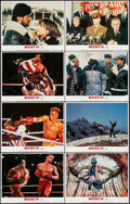 "Movie Posters:Sports, Rocky IV (MGM/UA, 1985). Lobby Card Set of 8 (11"" X 14""). Sports.. ... (Total: 8 Items)"
