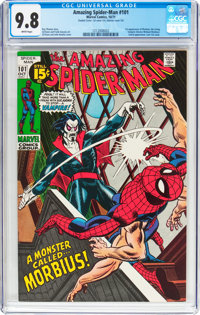 The Amazing Spider-Man #101 Double Cover (Marvel, 1971) CGC NM/MT 9.8 White pages