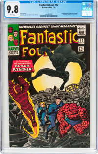 Fantastic Four #52 (Marvel, 1966) CGC NM/MT 9.8 White pages