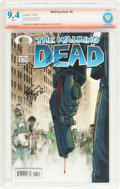 Modern Age (1980-Present):Horror, The Walking Dead #4 Verified Signature (Image, 2004) CBCS NM 9.4White pages....