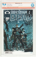 Modern Age (1980-Present):Horror, The Walking Dead #5 Verified Signature (Image, 2004) CBCS NM+ 9.6White pages....