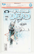 Modern Age (1980-Present):Horror, The Walking Dead #7 Verified Signature (Image, 2004) CBCS NM+ 9.6White pages....