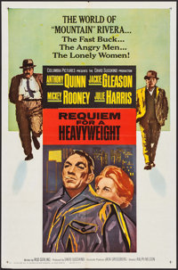 "Requiem for a Heavyweight (Columbia, 1962). One Sheet (27"" X 41""), Lobby Card Set of 8 (11"" X 14"")..."