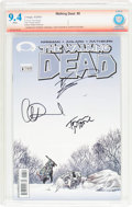 Modern Age (1980-Present):Horror, The Walking Dead #8 Verified Signature (Image, 2004) CBCS NM 9.4White pages....