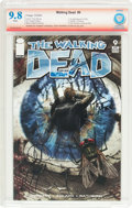 Modern Age (1980-Present):Horror, The Walking Dead #9 Verified Signature (Image, 2004) CBCS NM/MT 9.8White pages....