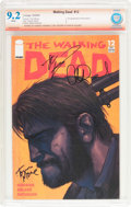 Modern Age (1980-Present):Horror, The Walking Dead #12 Verified Signature (Image, 2004) CBCS NM- 9.2White pages....