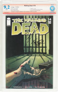 Modern Age (1980-Present):Horror, The Walking Dead #14 Verified Signature (Image, 2004) CBCS NM- 9.2White pages....