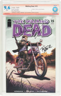 Modern Age (1980-Present):Horror, The Walking Dead #15 Verified Signature (Image, 2005) CBCS NM+ 9.6White pages....