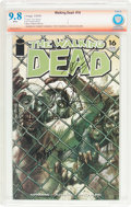 Modern Age (1980-Present):Horror, The Walking Dead #16 Verified Signature (Image, 2005) CBCS NM/MT9.8 White pages....