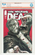 Modern Age (1980-Present):Horror, The Walking Dead #17 Verified Signature (Image, 2005) CBCS NM+ 9.6 White pages....