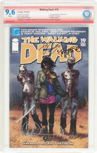 The Walking Dead #19 Verified Signature (Image, 2005) CBCS NM+ 9.6 White pages