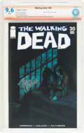 Modern Age (1980-Present):Horror, The Walking Dead #20 Verified Signature (Image, 2005) CBCS NM+ 9.6White pages....