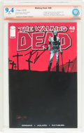Modern Age (1980-Present):Horror, The Walking Dead #48 Verified Signature (Image, 2008) CBCS NM 9.4White pages....