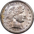 Barber Quarters, 1915-S 25C MS66+ PCGS....
