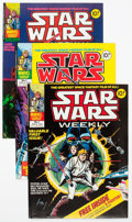 Magazines:Science-Fiction, British Star Wars Weekly Magazine Group of 10 (Marvel, 1978)Condition: Average FN/VF.... (Total: 10 Comic Books)