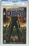 Modern Age (1980-Present):Horror, The Walking Dead #1 Wizard World Reno Edition (Image, 2015) CGCNM/MT 9.8 White pages....