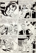 Original Comic Art:Panel Pages, Don Heck and Wally Wood Tales of Suspense #71 Story Page 10Iron Man Original Art (Marvel, 1965)....