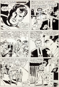 Don Heck and Wally Wood Tales of Suspense #71 Story Page 10 Iron Man Original Art (Marvel, 1965)