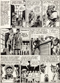Original Comic Art:Panel Pages, Harvey Kurtzman Weird Science #15 (#4) Story Page 2 OriginalArt (DC, 1950)....