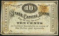 Obsoletes By State:New Hampshire, Concord, NH- Phenix Hotel State Capital Bank 10¢ Nov. 1, 1862. ...