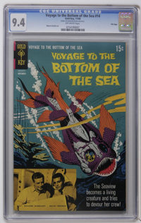 Voyage to the Bottom of the Sea #14 - File Copy (Gold Key, 1968) CGC NM 9.4 Off-white pages
