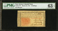 Colonial Notes:New Jersey, New Jersey March 25, 1776 6s PMG Choice Uncirculated 63 EPQ.. ...