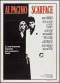 "Movie Posters:Crime, Scarface (Universal, 1983). Italian 2 - Fogli (39"" X 55""). Crime....."
